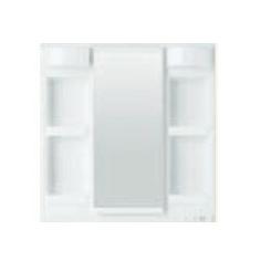 *TOTO*LMSPL075B4GFG1[A/C/D/E] 化粧鏡 ミラーキャビネット 1面鏡[鏡裏収納付 全高1800mm対応] 蛍光ランプ エコミラーなし Fシリーズ 75cmタイプ 洗面化粧台用〈送料無料〉
