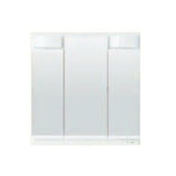 *TOTO*LMSPL075A3GDG1[A/C/D/E] 化粧鏡 ミラーキャビネット 3面鏡 LEDランプ エコミラーなし Fシリーズ 75cmタイプ 洗面化粧台用〈送料無料〉