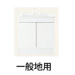 *TOTO*LDPL075BAGEN1[A] ホワイト ベースキャビネット化粧台 2枚扉タイプ 一般地用 Fシリーズ 75cmタイプ 洗面化粧台〈送料無料〉