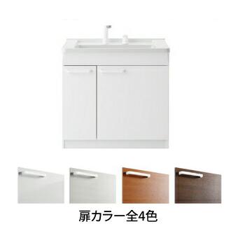 *TOTO*LDCL075BJGEN1[B/C/D/E] KCシリーズ ベースキャビネットのみ エコシングルシャワー水栓 片引出しタイプ 75cmタイプ 洗面化粧台〈送料無料〉