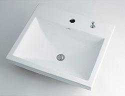 *KAKUDAI*493-003H Luju 角型洗面器