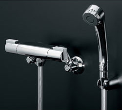 *KAKUDAI*173-224K 水栓金具 サーモスタットシャワー専用混合栓 [寒冷地用]