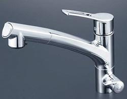【3年保証付】*KVK*KM5061NSC 水栓金具 浄水器付シングルレバー式シャワー付混合栓
