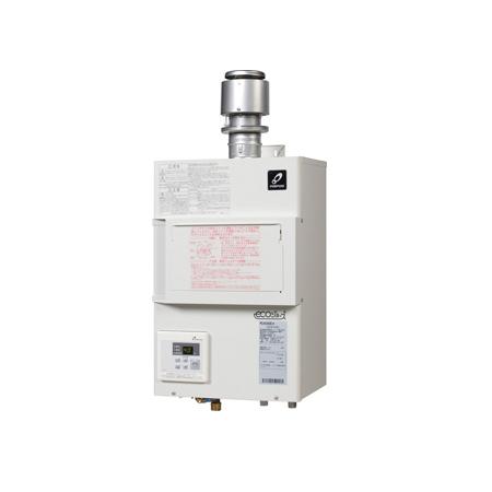 *パーパス[高木産業]*PG-H1600E-H 業務用給湯器 排気フード対応形 FE式 屋内壁掛型 PG-Hシリーズ エコジョーズ 16号 デザインカバー対応【送料・代引無料】