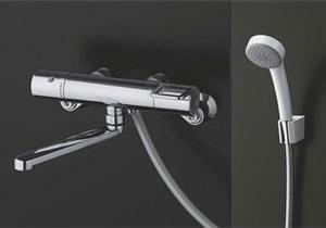 *TOTO*TMY240EZ サーモスタットシャワー水栓金具 エアインシャワー 壁付きタイプ[寒冷地用]【送料・代引無料】