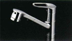 *TOTO*TKY232E キッチン用水栓金具 エコシングル水栓 台付き[1穴]タイプ ハンドシャワー・吐水切替付き【送料・代引無料】