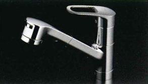 *TOTO*TKY232EZ キッチン用水栓金具 エコシングル水栓 台付き[1穴]タイプ ハンドシャワー・吐水切替付き[寒冷地用]【送料・代引無料】