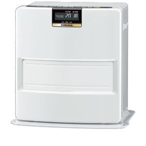 プレミアム消臭「極」&大型白文字バックライト液晶新搭載。W消臭で快適、表示も見やすい。 【3年保証付】*コロナ*FH-VX3619BY-W 石油ファンヒーターVXシリーズ 3.6kW 木造10畳/コンクリート13畳 〈送料無料〉