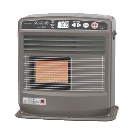 暖かさが見える、温風と放射の2ウェイ暖房。 *ダイニチ/Dainichi*FB-56LD-T プラチナブラウン石油ファンヒーター FBタイプ 5.6kW 木造15畳/コンクリート20畳〈送料無料〉