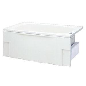 バスヒーター部分を浴槽外に設置しているので狭かった浴槽もひろびろ使えます 日立ハウステック 正規品スーパーSALE×店内全品キャンペーン HK-1272A9-1L-L R-WH 特別セール品 1200 ヒーティング タイプ 満水250L 簡易脱着 一方全エプロン FRP浅型浴槽