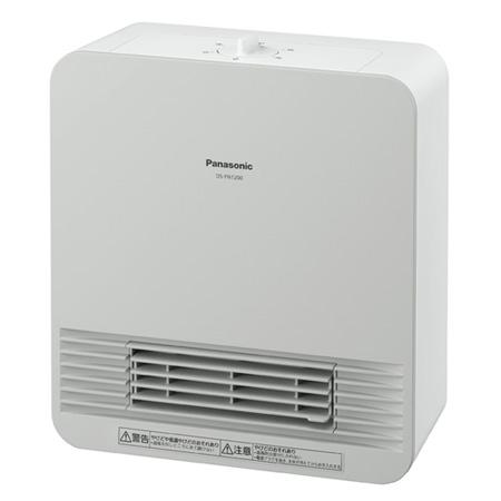 *パナソニック* DS-FN1200 セラミックファンヒーター ホワイト1170w(50/60Hz)〈送料無料〉