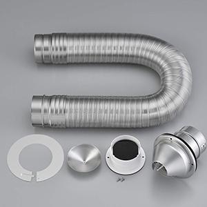 *リンナイ*DPS-80K ガス衣類乾燥機オプション ダンパー付 排湿管セット RDT-80 RDT-54S RDT-52SA RDT-31S用