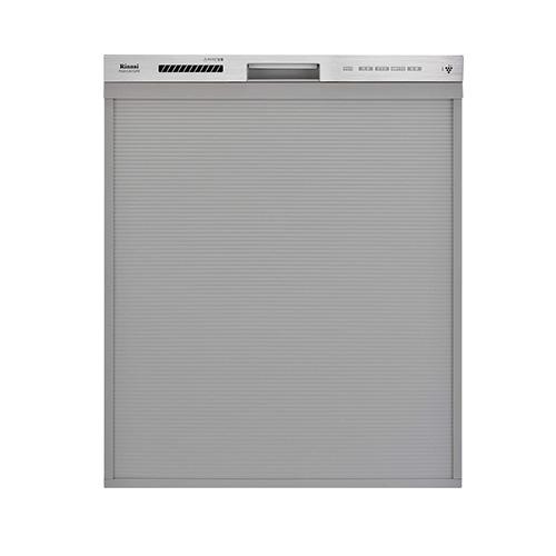 ☆*リンナイ*RSW-D401GPE 食器洗い乾燥機 ステンレス調 スタンダード おかってカゴ 深型スライドオープン 食洗機 〈送料・代引無料〉