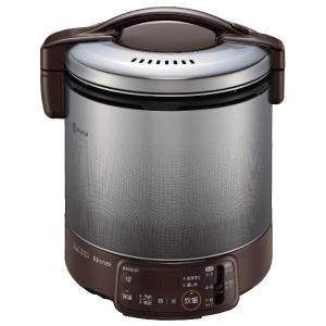 *リンナイ* RR-100VQT(DB) ダークブラウン ガス炊飯器 こがまる 電子ジャー付 タイマー付 [2~10合] 1.8L〈送料・代引無料〉