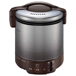 *リンナイ* RR-100VQ(DB) ダークブラウン ガス炊飯器 こがまる 電子ジャー付 [2~10合] 1.8L〈送料・代引無料〉
