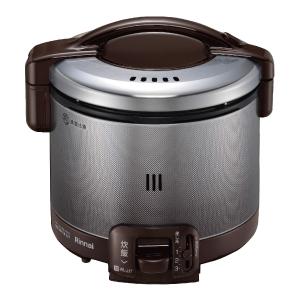 *リンナイ* RR-030FS(DB) ダークブラウン ガス炊飯器 こがまる [0.5~3合] 0.54L〈送料・代引無料〉