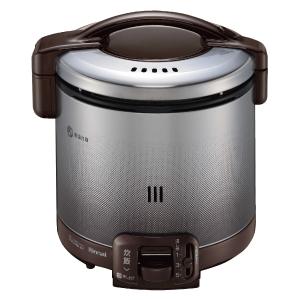 *リンナイ* RR-050FS(DB) ダークブラウン ガス炊飯器 こがまる [1~5合] 0.9L〈送料・代引無料〉