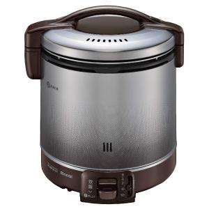 *リンナイ* RR-100FS(DB) ダークブラウン ガス炊飯器 こがまる [2~10合] 1.8L〈送料・代引無料〉