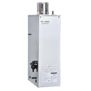 *長府製作所*EHK-4566SAG Wエコフィール 減圧式 標準圧力型 石油ふろ給湯器 屋外据置型 [オート] Rトップ付 リモコン別売〈送料・代引無料〉