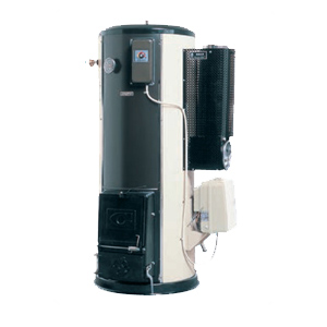 *長府製作所*LHG-4010S 給湯専用 マキ焚兼用タイプ 強制通気タイプ 石油給湯器 屋内据置型
