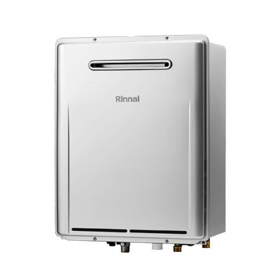 *リンナイ* RUF-ME2406SAW マイクロバブルバスユニット内蔵型 ガスふろ給湯器 設置フリー屋外壁掛型 [オート] 24号 〈送料・代引無料〉