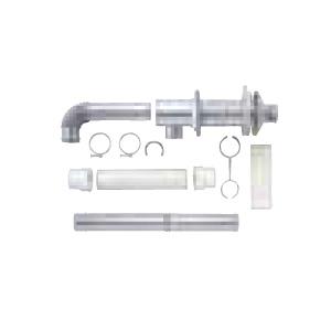 *サンポット*FF-70-092 薄型給排気筒セット 石油給湯器用〈送料・代引無料〉