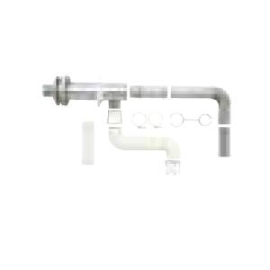 *サンポット*FF-70-082 薄型給排気筒セットよこタイプ 石油給湯器用〈送料・代引無料〉