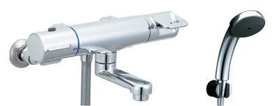*INAX*浴室用サーモスタット付 シャワーバス水栓壁付タイプ洗い場専用 BF-HB146TL