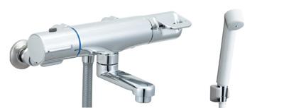 *INAX*浴室用サーモスタット付 シャワーバス水栓壁付タイプ 洗い場専用 BF-HB146T