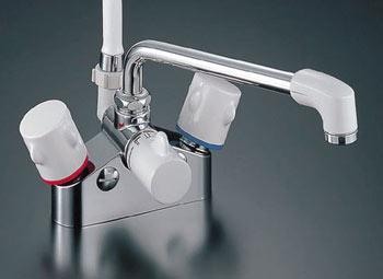 *INAX*浴室用2ハンドルシャワーバス水栓デッキ・シャワータイプ BF-M616H