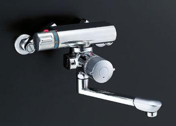 *INAX*浴室用水栓金具サーモスタット付バス水栓壁付タイプBF-7340T