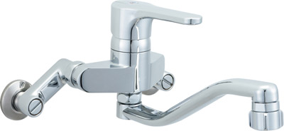 *INAX*台所水栓 キッチン用水栓金具壁付タイプ シングルレバー SF-HB433S