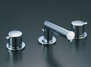 *INAX*洗面用水栓2ハンドル混合水栓 ポップアップ式LF-E130B