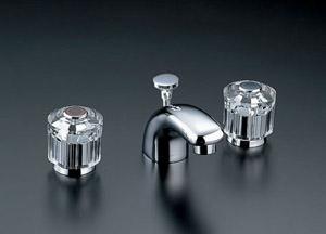 *INAX*洗面用水栓2ハンドル混合水栓 ポップアップ式LF-231B-GL