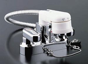 *INAX*洗面用水栓2ハンドル混合水栓 ゴム栓式SF-25D