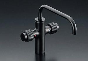 *INAX*洗面用水栓2ハンドル混合水栓 排水栓なしLF-740/SAB
