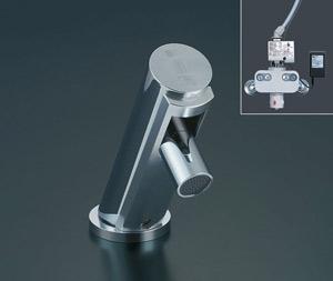 *INAX*洗面用自動水栓[混合水栓]標準タイプ 排水栓なしAM-90K[100V]