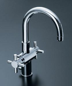 *INAX*洗面用水栓2ハンドル混合水栓 ポップアップ式LF-CF-31004/PC