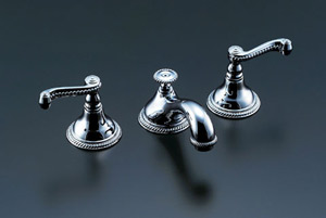 *INAX*洗面用水栓2ハンドル混合水栓 ポップアップ式LF-CF-31130/PC