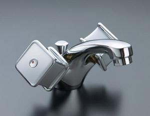 *INAX*洗面用水栓2ハンドル混合水栓 ポップアップ式LF-VC-1015/PC