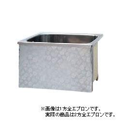 """楚々とした"""" なでしこ""""がさりげなく咲き誇る。 *JFE*KS90 ステンレス浴槽 KSシリーズ 2方全エプロン ストレート据置タイプ[満水280L]"""