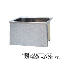 *JFE*KS100 ステンレス浴槽 KSシリーズ 2方全エプロン ストレート据置タイプ[満水320L]