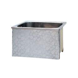 *JFE*KS100-H550 ステンレス浴槽 KSシリーズ 1方全エプロン ストレート据置タイプ[満水265L]