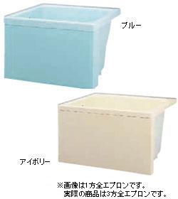 *JFE*KFP80 FRP浴槽 KFPシリーズ 3方全エプロン据置タイプ[満水230L]