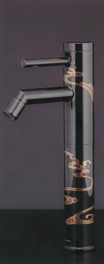 *KAKUDAI*洗面用 シングルレバー立水栓[トールタイプ] 716-214-13