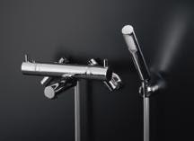 *KAKUDAI*浴室用 サーモスタットシャワ混合栓 173-201/173-201K