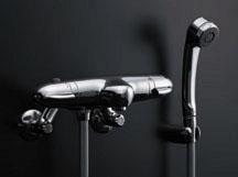 *KAKUDAI*浴室用 サーモスタットシャワ混合栓 173-040/173-040K