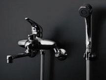 *KAKUDAI*浴室用 シングルレバーシャワ混合栓 143-001
