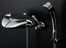 *KAKUDAI*浴室用 サーモスタットシャワ混合栓 173-055/173-055K