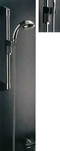 *KAKUDAI*浴室用 シャワスライドグリップバー 358-209[左右兼用]